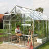 View Item Vitavia Jupiter 6700 8'x8' Greenhouse